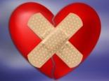 corazón con tiritas