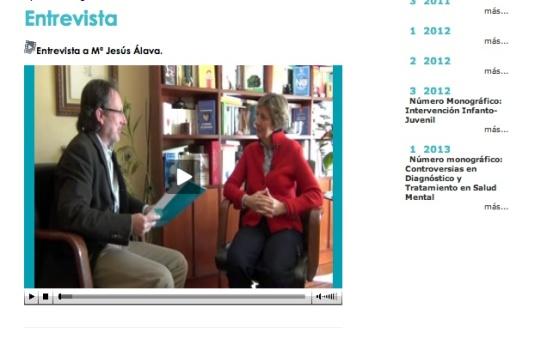 Entrevista a MJA en RCC