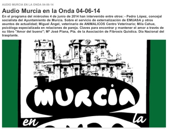 Onda Cero Murcia 04062014