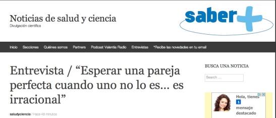 Noticias de Salud y Ciencia 30 Julio 2014