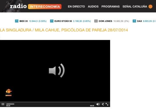 Radio Intereconomía La Singladura 28 Julio 2014