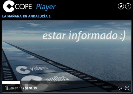 COPE La mañana Andalucía 4 Agosto 2014