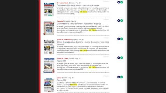 Periódicos EFE Alicante