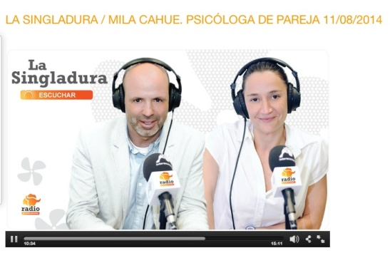 RadioInterconomía La Singladura 11082014 Modelos de Pareja