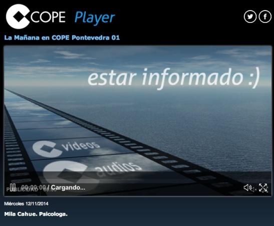 COPE Pontevedra 12 Noviembre 2014