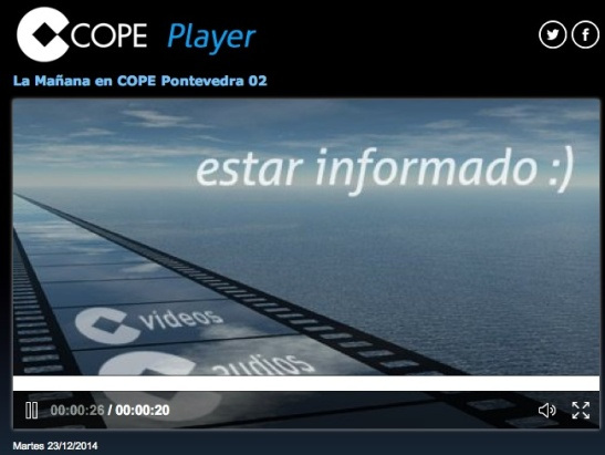 COPE Pontevedra 23 Diciembre 2014