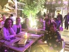 Belén, yo, Mildred, Alicia, Yanira y Francia